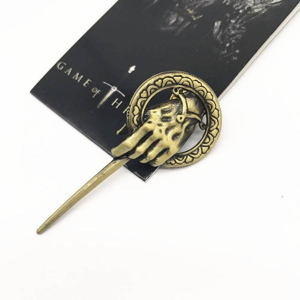 Hand of the King Lapel Pin Game of Thrones Brooch Surprise Gifts for Him