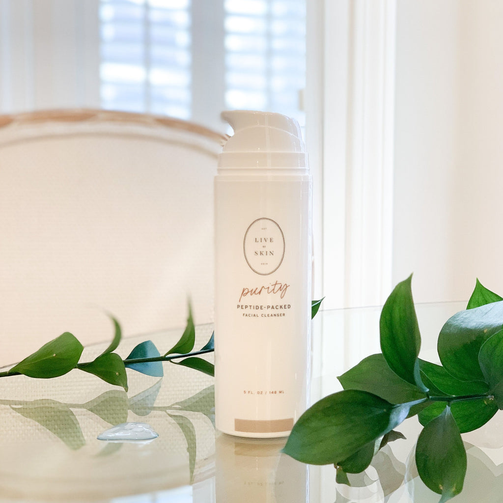 purity - peptide anti-aging cleanser
