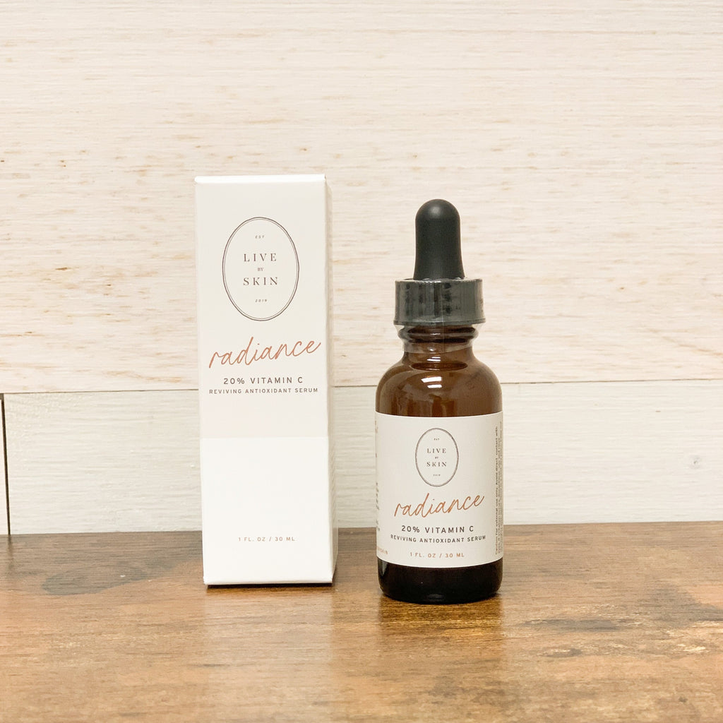 Live by Radiance, 20% Vitamin C with Hyaluronic Acid and Niacinamide