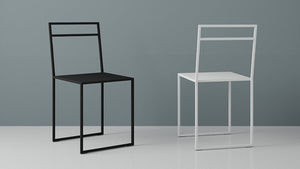 Minimalist dining chair SIMPLE