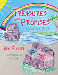 Treasures and Promises Coloring Book, Debra Fuller - Blue Note Publications, Inc