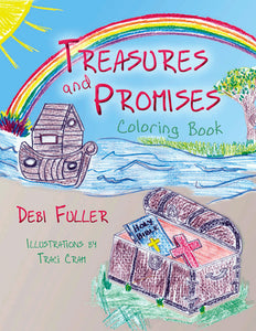 Treasures and Promises Coloring Book, Debra Fuller