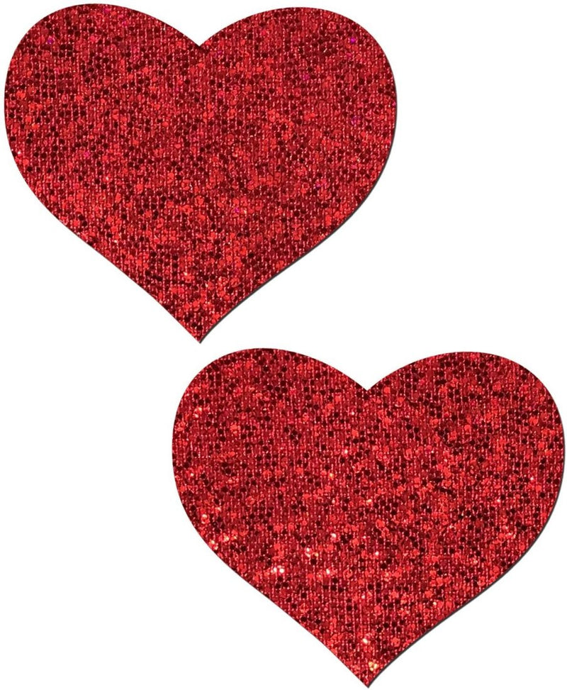 Glitter Heart Nipple Pasties