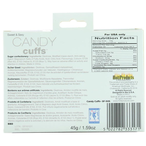 Edible Candy Cuffs
