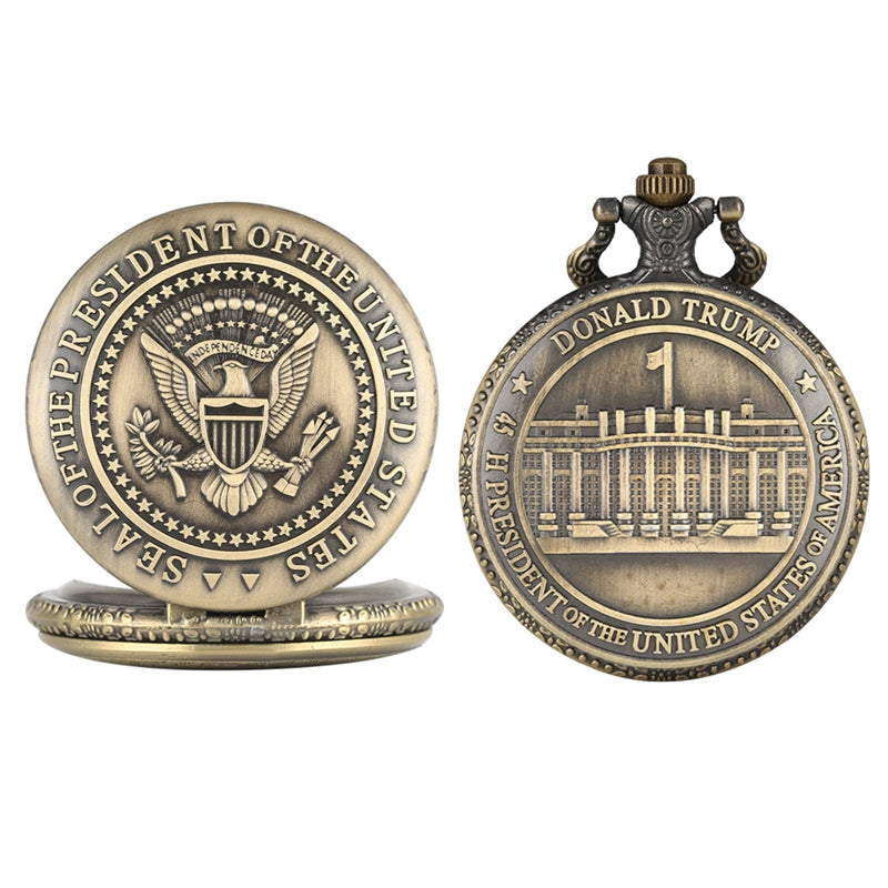 Donald Trump Pocket Watch