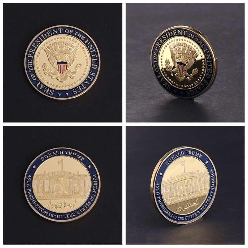 US 45th President Coin