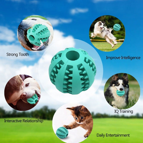 Oigoor Pet Toy Rubber Balls