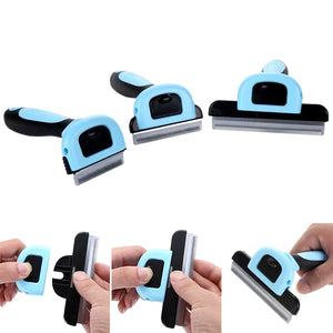 Pet Hair Removal Comb Grooming Tool