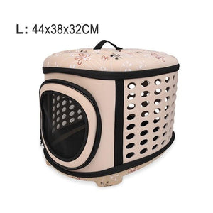 Foldable Dog/Cat Carrier Shoulder Bags