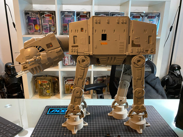 At-At working! Missing battery cover.