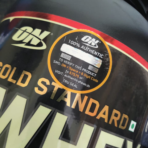 Whey Protein Powder Authenticity Seal   Source: BloodnGutz