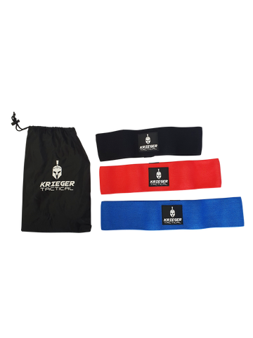 Kreiger Tactical Booty Bands 3 Pack