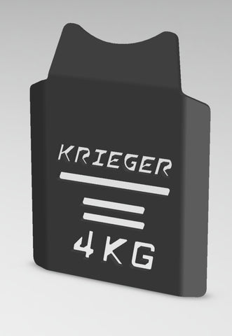 Krieger Tactical Steel Training Plates