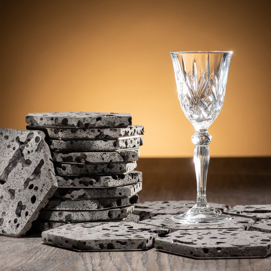 Lava Coasters by Lumo Casa