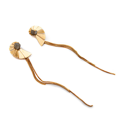 Nautilus Toujour Long Earrings