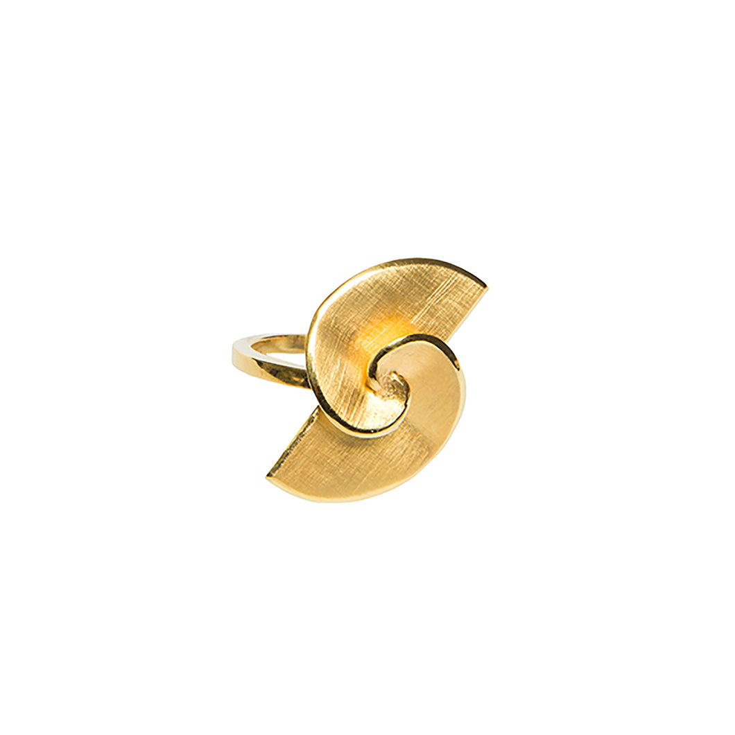 Golden Spiral II Ring