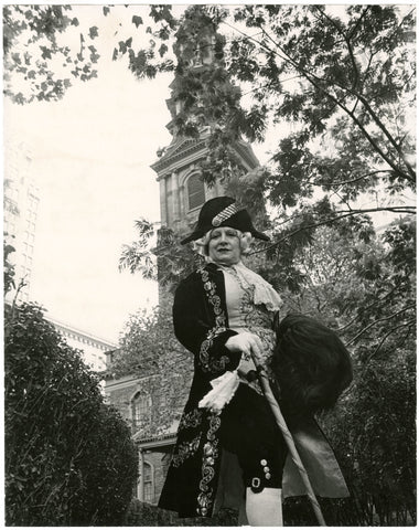 Photo credit: Bill Cunningham. Image courtesy New-York Historical Society. St. Paul's Chapel, New York City