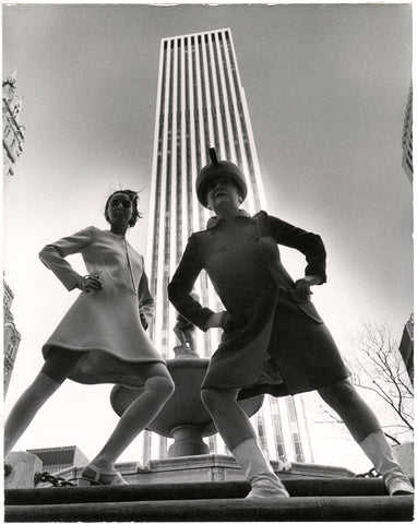 Photo credit: Bill Cunningham. Image courtesy New-York Historical Society. GM Building, New York City