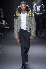 Calvin AW16 LCM Menswear Fashion Catwalk Bomber Jacket