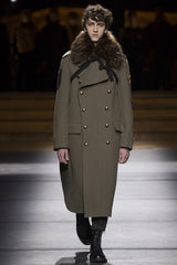 Drie AW16 LCM Menswear Fashion Catwalk Military Coat