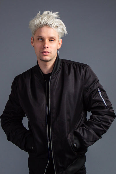 Down-filled Bomber Jacket