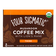 Load image into Gallery viewer, Four Sigmatic MUSHROOM COFFEE WITH LION'S MANE