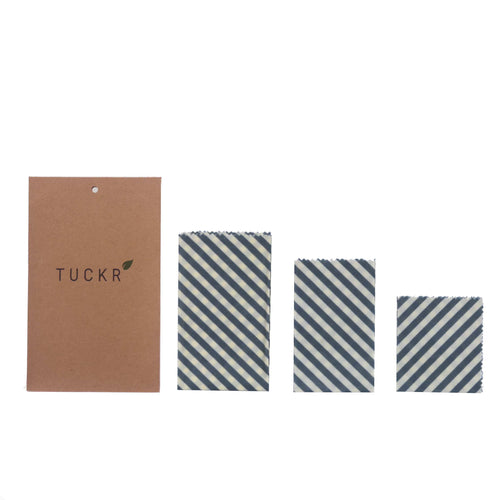 Tuckr Beeswax Wrap - Stripes