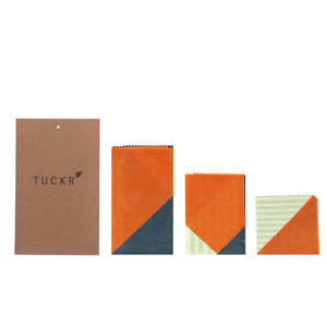 Tuckr Beeswax Wrap - Triangles