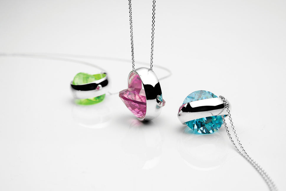 Laus silver necklaces by Orr