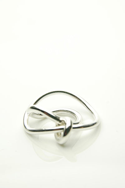 Deflected Silver Ring
