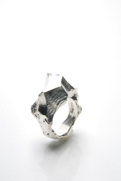 Men's Klettur Silver Ring