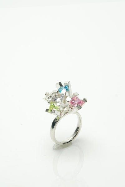 Candy Coloured Cocktail Ring