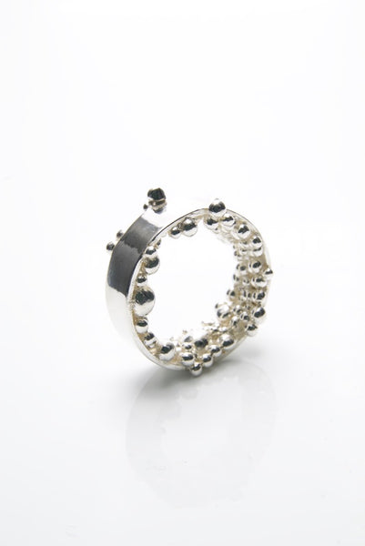 Men's Kúla Silver Ring