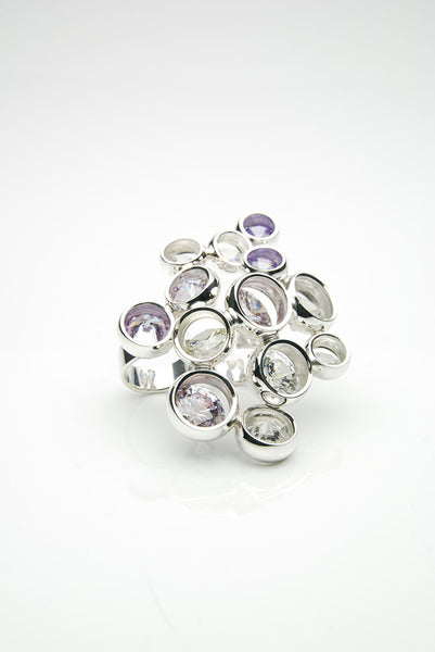 Lavender Laus Ring by Orr