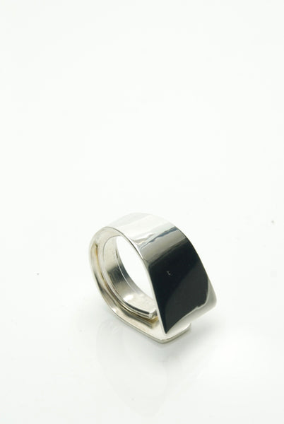 Structural Silver Ring