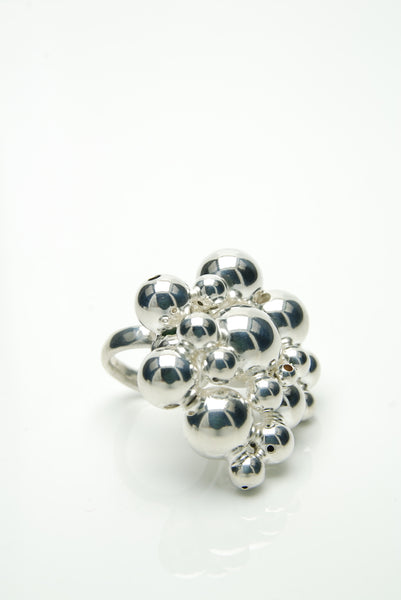 Bubbles Cocktail Ring