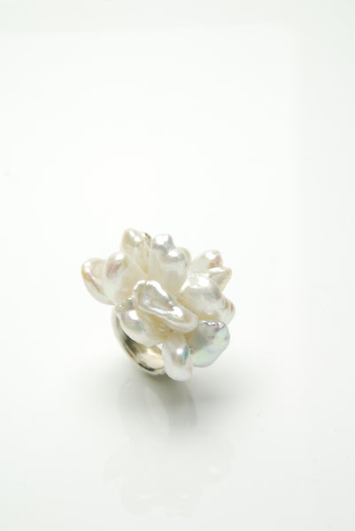 Perla Silver Ring by Orr