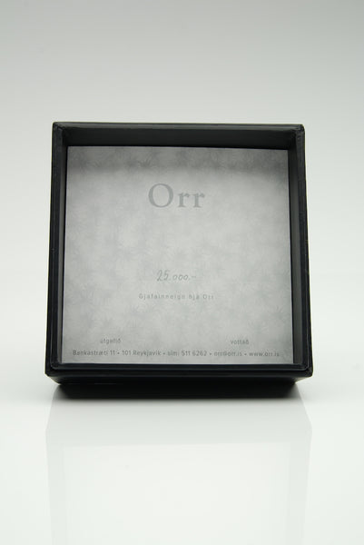 Orr Gift Card in a Box