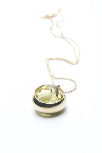 Laus Yellow Gold & Quartz