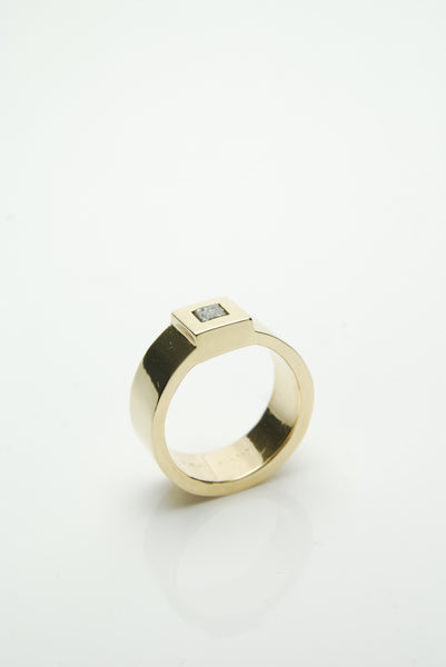 Men's Gold & Diamond Ring