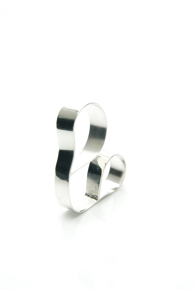 Minimal Mickey Mouse Ring
