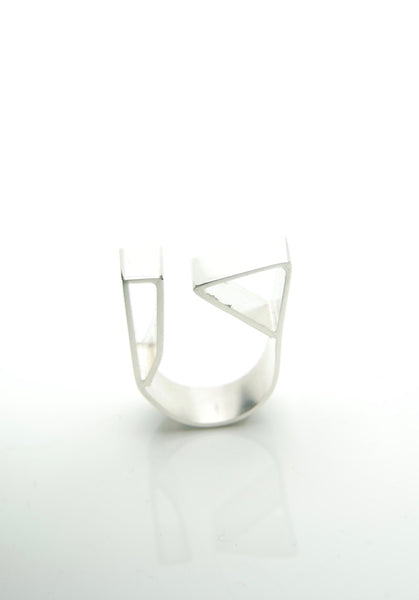 Cubic Silver Ring by Orr