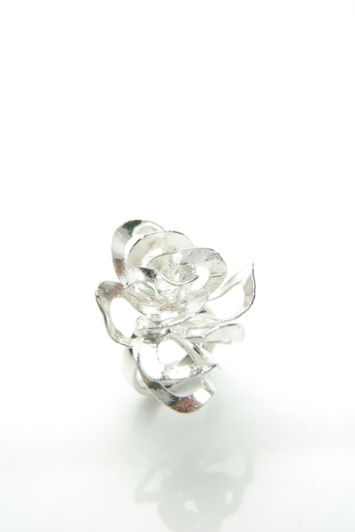 Deliquescent Bunch Silver Ring