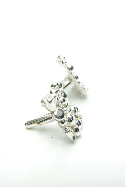 Silver Bubbles Cufflinks