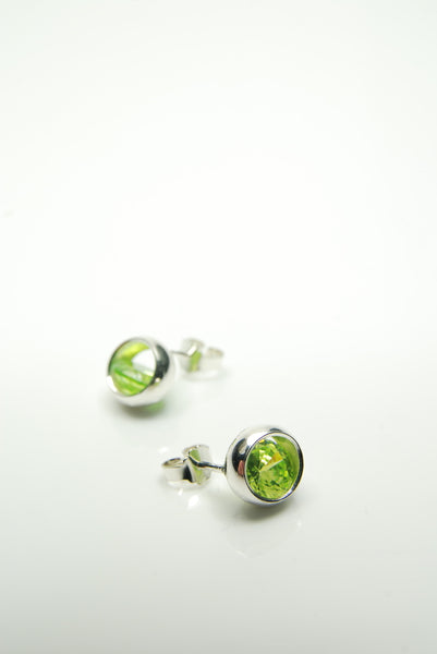 Apple-green Laus Earrings