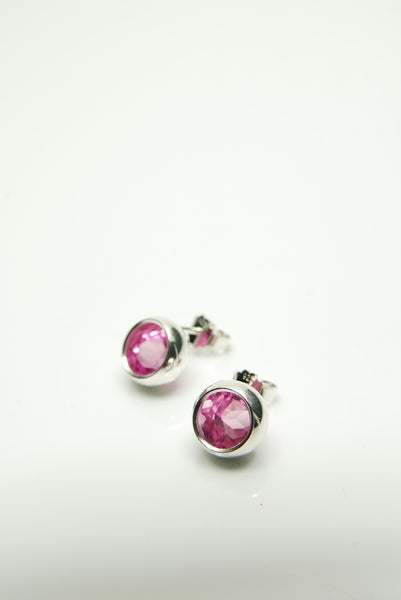 Rose-Pink Laus Earrings
