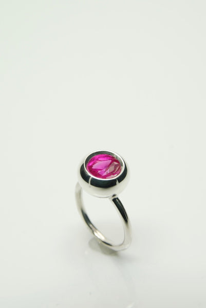Laus Pink Ruby Ring
