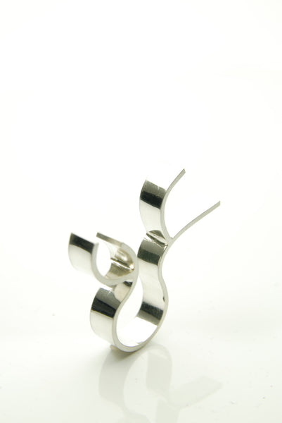Construction Silver Ring