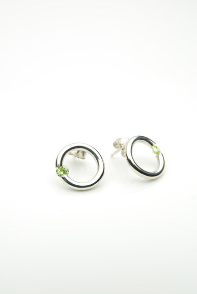 Hlekkir Silver Earrings