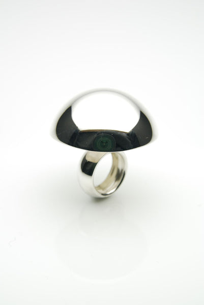 Hvolf Silver Ring by Orr